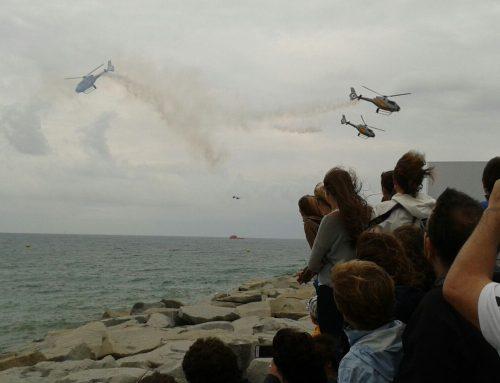 DNOTA organiza, un año más, el dispositivo de seguridad marítimo del festival aéreo de Barcelona 2014